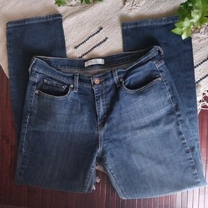 Levi's Blue 505 Straight Cut Jeans 10 Short